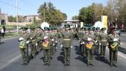 ՀՀ ԱԱԾ սահմանապահ զորքերի զինծառայողները շարային քայլերթով նշեցին Անկախության տոնը (տեսանյ...