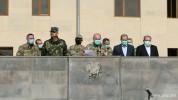 ԱԱԾ տնօրենի ժամանակավոր պաշտոնակատար Միքայել Համբարձումյանը հանդիպել է սահմանապահ զորքերի ...