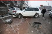 Երևանում բախվել են Honda-ն ու Opel-ը. վիրավորներից մեկին հայտնաբերել են բեռնախցիկում. Sham...