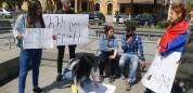 Վանաձորում շարունակվում են բողոքի ակցիաները. պահանջը մեկն է` ՀՀԿ-ի  հեռացումը