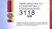 Արտակարգ դրության իրավական ռեժիմի կանոնների խախտման 3118 դեպք է հայտնաբերվել