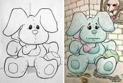 Ինչ է լինում, երբ մեծահասակները ներկում են մանկական գունազարդման գրքերը (լուսանկարներ)