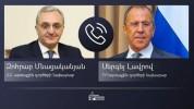 Հայաստանի և Ռուսաստանի ԱԳ նախարարները հեռախոսազրույց են ունեցել․ մանրամասներ