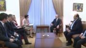 Էդվարդ Նալբանդյանը ֆրանսիայի ԱԳՆ պաշտոնյանի հետ խոսել է Հայաստան-ԵՄ համաձայնագրի մասին (տեսանյութ)