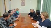 Մհեր Արմենիան և Հայկ Բաբուխանյանը Արցախի ԱԺ նախագահի հետ քննարկել են տարածաշրջանային և աշխ...