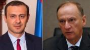 ՀՀ և ՌԴ ԱԽ քարտուղարներ Արմեն Գրիգորյանը և  Նիկոլայ Պատրուշևը հեռախոսազրույց են ունեցել