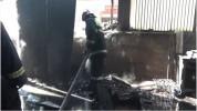 Բալահովիտի փրփրապլաստի արտադրամասում հրդեհ է բռնկվել (տեսանյութ)