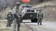 Ռուս խաղաղապահները Ստեփանակերտում ականազերծման աշխատանքների ժամանակ հայտնաբերել են 10 կասե...