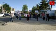 Շուշիում մի խումբ քաղաքացիներ բողոքի ակցիա են անց կացրել (տեսանյութ)
