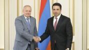 ԱԺ նախագահ Ալեն Սիմոնյանն ընդունել է Հայաստանում ՌԴ դեսպան Սերգեյ Կոպիրկինին