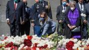ԱՄՆ դեսպանը Ծիծեռնակաբերդում հարգանքի տուրք է մատուցել 1915 թվականի զոհերի հիշատակին (լուս...