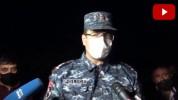 Վայոց Ձորի ոստիկանապետը՝ ակտիվիստի ոտքի վնասվելու մասին (տեսանյութ)