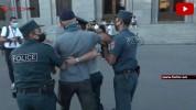 Ոստիկանները բերման ենթարկեցին ի պաշտպանություն Ամուլսարի հեծանվային երթ իրականացնող քաղաքա...