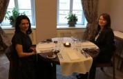 Աննա Հակոբյանը Վիլնյուսում աշխատանքային ճաշ է ունեցել Լիտվայի վարչապետի տիկնոջ հետ