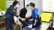 Աննա Հակոբյանն այցելել է Հայրենիքի պաշտպանի վերականգնողական կենտրոն (լուսանկարներ)