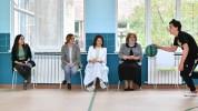 Այսօր Lենա Նազարյանի հետ ներկա եղանք Վանաձորի՝ Վ. Համբարձումյանի անվան N25 հիմնական դպրոցի...