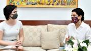 Աննա Հակոբյանը հյուրընկալել է Հայաստանում Լիտվայի դեսպանին