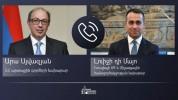 Արա Այվազյանը հեռախոսազրույց է ունեցել Իտալիայի արտաքին գործերի և միջազգային համագործակցու...