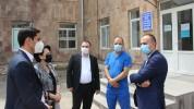 Արարատի մարզի 2 բժշկական կենտրոն ամբողջությամբ լծվել է COVID-19-ի դեմ պայքարին (լուսանկարն...
