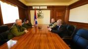 Արայիկ Հարությունյանն ընդունել է Ղրիմի կամավորականների միության ղեկավար Արմեն Մարտոյանին
