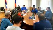 ԱՀ նախագահը Երևանում հանդիպել է Հադրութի շրջանի մի խումբ բնակիչների հետ
