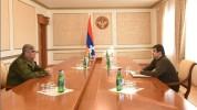 Այսօր հրամանագիր եմ ստորագրել, համաձայն որի՝ պարոն Բալասանյանը նշանակվել է ԱՀ Անվտանգությա...