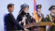 Պատրաստ մեռնել հանուն հայրենիքի. Արայիկ Հարությունյանի էմոցիոնալ երդումը. «Հրապարակ»