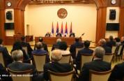 Բակո Սահակյանն ու Էդվարդ Նալբանդյանը քննարկել են արցախա-ադրբեջանական հակամարտությանը վերաբ...