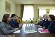 Ռուստամ Բադասյանն ընդունել է Միացյալ Թագավորության դեսպանության գործերի հավատարմատարին․ քն...