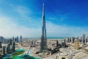Դուբայում աշխարհի ամենաբարձր երկնաքերը լուսավորվել է հայկական եռագույնով (լուսանկար)