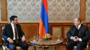 Արմեն Սարգսյանը շնորհավորել է Ալեն Սիմոնյանին