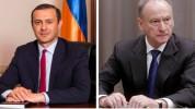 ԱԽ քարտուղար Արմեն Գրիգորյանը հեռախոսազրույց է ունեցել ՌԴ իր պաշտոնակցի հետ