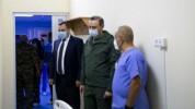 Անվտանգության խորհրդի քարտուղար Արմեն Գրիգորյանն այցելել է Մուրացանի զինվորական հոսպիտալ