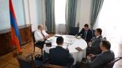 Արմեն Սարգսյանն ընդունել է ՀՀ բարձր տեխնոլոգիական արդյունաբերության նախարարի պաշտոնակատարի...