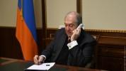 Արմեն Սարգսյանը հեռախոսազրույց է ունեցել ԿԸՀ նախագահի հետ