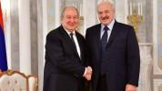 Արմեն Սարգսյանը շնորհավորել է Ալեքսանդր Լուկաշենկոյին` Բելառուսի նախագահի պաշտոնում վերընր...
