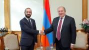 Արմեն Սարգսյանի հետ քննարկել ենք խորհրդարանի և նախագահի դերը առկա ներքաղաքական իրավիճակի լ...