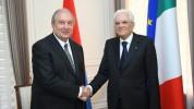 Արմեն Սարգսյանին ծննդյան օրվա առթիվ շնորհավորել է Իտալիայի նախագահը