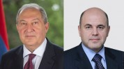 Արմեն Սարգսյանը շնորհավորական ուղերձ է հղել Միխայիլ Միշուստինին