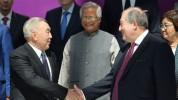 Հանրապետության նախագահ Արմեն Սարգսյանը ծննդյան 80-ամյակի առթիվ շնորհավորել է Ղազախստանի առ...