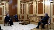 Արմեն Սարգսյանը հանդիպել է Հայրենիքի փրկության շարժման ղեկավարների հետ