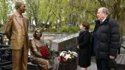 Արմեն Սարգսյանը Մոսկվայում հարգանքի տուրք է մատուցել լեգենդար հետախույզներ Գևորգ և Գոհար Վ...