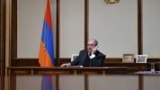 Արմեն Սարգսյանը հեռախոսազրույց է ունեցել ԲԴԽ նախագահի հետ