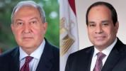 Արմեն Սարգսյանը շնորհավորական ուղերձ է հղել Եգիպտոսի Արաբական Հանրապետության նախագահին