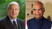 Նախագահ Սարգսյանն ազգային տոնի առթիվ շնորհավորական ուղերձ է հղել Հնդկաստանի նախագահին