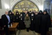 Արմեն Սարգսյանը և տիկին Նունե Սարգսյանն Երուսաղեմում այցելել են Սուրբ Հարության ...