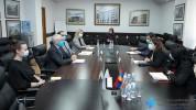 Առողջապահության նախարարն ընդունել է Հայաստանում ՄԱԿ-ի մշտական համակարգող Շոմբի Շարփի գլխավ...