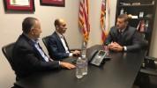 Արտակ Բեգլարյանը համագործակցության ծրագրեր է քննարկել ԱՄՆ կոնգրեսական Դեյվիդ Վալադաոյի հետ...