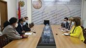 ԱՍՀ փոխնախարարն ընդունել է ԱՀԿ ներկայացուցչին