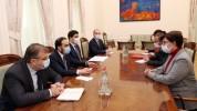 Փոխվարչապետ Տիգրան Ավինյանն ընդունել է ԿԽՄԿ ներկայացուցիչներին